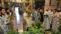 (Δελτίο Τύπου) Αρχιερατική Θεία Λειτουργία επί τη εορτή της Παγκοσμίου Υψώσεως του Τιμίου και Ζωοποιού Σταυρού