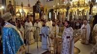 (Δελτίο Τύπου) Αρχιερατική Θεία Λειτουργία και εις Διάκονον χειροτονία στον Ι.Ν. Αγ. Νικολάου - Λαγυνών