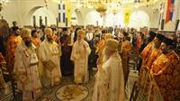(Δελτίο Τύπου) Πατριαρχική Θεία Λειτουργία εις τον Καθεδρικό Ι.Ν. του Τιμίου Προδρόμου-Νεαπόλεως