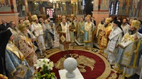 (Δελτίο Τύπου) Αρχιερατικό Συλλείτουργο επί τη εορτή του Αγ. Νέστορος εις τον Ι.Μ.Ν. Αγ. Παρασκευής-Λαγκαδά