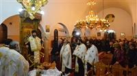 Μέγας Πανηγυρικός Αρχιερατικός Εσπερινός εις τον Ιερό Ναό των Αγίων Νεκταρίου και Γεωργίου του Τροπαιοφόρου -  Μονολόφου