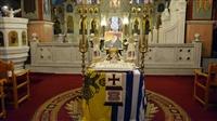 (Δελτίο Τύπου) Αρχιερατική Θεία Λειτουργία επί τη εορτή του Αγ. Σπυρίδωνος και Αρχιερατικό Μνημόσυνο του Μακαρ. Μητροπολίτου κυρού Σπυρίδωνος