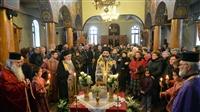 (Δελτίο Τύπου) Υποδοχή του Τιμίου Σταυρού εις τον Ιερό ναό Αγ. Παρασκευής - Κολχικού
