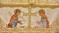 (Δελτίο Τύπου) Ιερά Αγρυπνία επί τη εορτή της αποδόσεως του Πάσχα εις τον Ι.Ν. Αγ. Κωνσταντίνου & Ελένης - Ασσήρου
