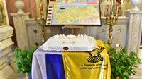 (Δελτίο Τύπου) Αρχιερατική Θεία Λειτουργία την Ζ΄ Κυριακή από του Πάσχα εις τον Ι.Μ.Ν. ΑΓ. Παρασκευής - Λαγκαδά