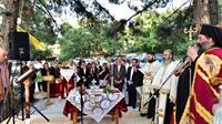 (Δελτίο Τύπου) Η Τελετή θεμελίωσης του υπό ανέγερση Ι. Παρεκκλησίου του Οσίου Δαβίδ