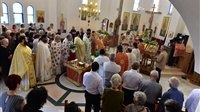 (Δελτίο Τύπου) Πανηγυρική Αρχιερατική Θεία Λειτουργία εις τον Ι.Ν. Αγ. Ραφαήλ, Νικολάου και Ειρήνης - Λαγυνών