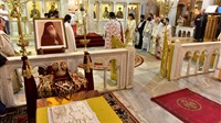 (Δελτίο Τύπου) Αρχιερατική Θεία Λειτουργία και Ιερό Μνημόσυνο εις τον Ι.Ν. Αγίου Δημητρίου - Θεσσαλονίκης