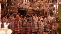(Αναδημοσίευση) Αρχιερατικό συλλείτουργο στην Ιερά Μονή Ιβήρων