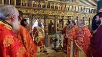 (Δελτίο Τύπου) Αρχιερατική Θεία Λειτουργία εις τον Πανηγυρίζοντα Ιερό Ναό Παμμεγίστων Ταξιαρχών - Όσσας