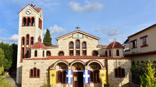 (Δελτίο Τύπου) Μέγας Πανηγυρικός Αρχιερατικός Εσπερινός εις τον Ιερό Ναό Αγίας Κυράννης - Όσσας