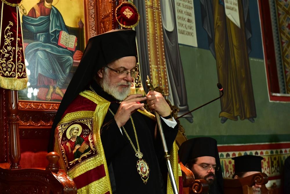 - (Δελτίο Τύπου) Μέγας Πανηγυρικός Αρχιερατικός Εσπερινός εις τον Ιερό Ναό Αγίας Κυράννης - Όσσας