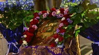 (Δελτίο Τύπου) Αρχιερατική Θεία Λειτουργία μετά του Εσπερινού εις τον Ι. Μητροπολιτικό Ναό Αγ. Παρασκευής - Λαγκαδά