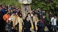 (Δελτίο Τύπου) Εορτάσθηκε  η κατά θαυμαστόν τρόπον εύρεση της θαυματουργού εικόνος της Παναγίας της Πορταϊτίσσης στην Ιεράν Μονήν των Ιβήρων
