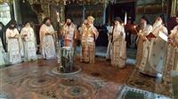 (Φωτογρ. Υλικό) Αρχιερατικό Συλλείτουργο εις την Ιερά Μονή των Ιβήρων - Αγίου Όρους