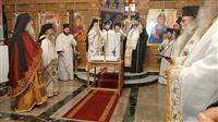 (Δελτίο Τύπου) Αρχιερατική Θεία Λειτουργία - Ιερό Μνημόσυνο εις τον Ι.Ν. Παναγίας Δεξιάς - Θεσσαλονίκης