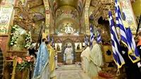 (Δελτίο Τύπου) Αρχιερατική Θεία Λειτυοργία εις τον Ιερό Ναό Κοιμήσεως της Θεοτόκου - Λαγκαδά