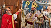 (Δελτίο Τύπου) Εγκαίνια του Ιερού Ησυχαστηρίου των Αγ. Αθανασίου και Κυράμνης- Γαλήνης