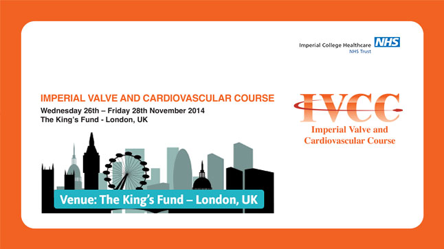 IMPERIAL VALVE AND CARDIOVASCULAR COURSE