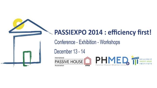 3o Πανελλήνιο Συνέδριο για το Παθητικό Κτίριο: PASSIEXPO2014