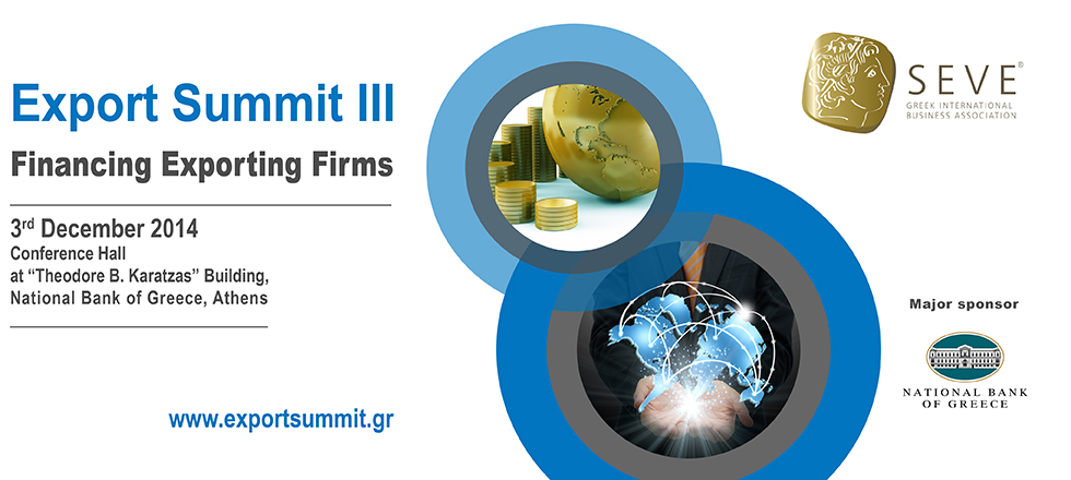 Export Summit 3 - Athens 2014