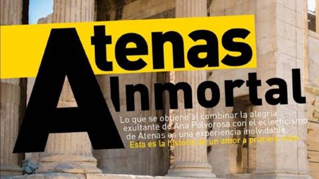 «Αθάνατη Αθήνα» είναι ο τίτλος αφιερώματος  του ισπανικού ηλεκτρονικού...