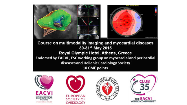 Course on multimodality imaging and myocardial diseases