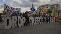 London   Solidarity with Greece!