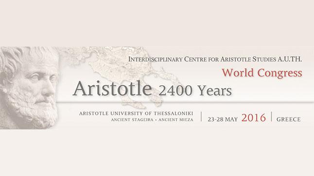 "World Congress ""Aristotle 2400 Years"""