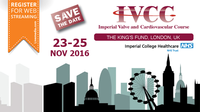 Imperial Valve and Cardiovascular Course  2016