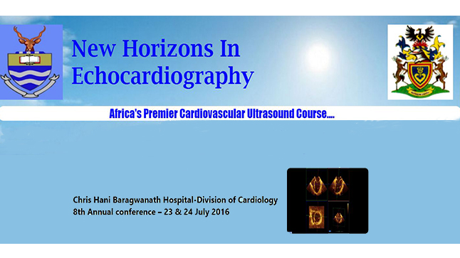 New Horizons in Echocardiography Johannesburg| 8th Annual conference