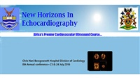 New Horizons in Echocardiography Johannesburg | 8th Annual conference