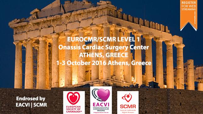 EuroCMR/SCMR LEVEL 1, 1-3 October 2016