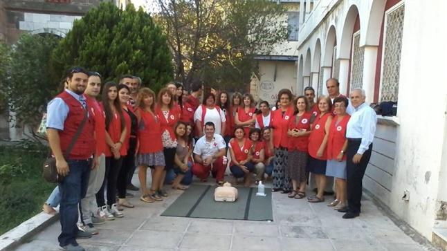 Εκπαίδευση Εθελοντών Ελληνικού Ερυθρού Σταυρού στη Μυτιλήνη