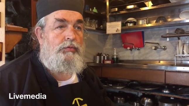 Τρύγος & Μαγειρική στο Άγιο Όρος με τον Πατέρα Επιφάνιο