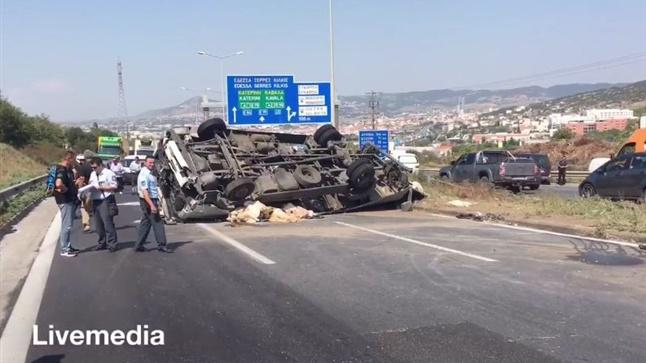 Δυστύχημα στην Περιφερειακή Οδό Θεσσαλονίκης με ένα νεκρό και...