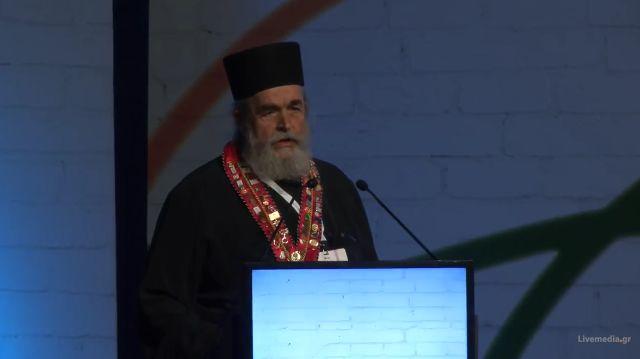 Η ομιλία του Πατέρα Επιφανίου στο Παγκόσμιο Συνέδριο Αρχιμαγείρων