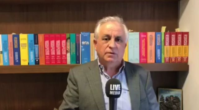 O Δημήτρης Σταματόπουλος, συγγραφέας Φορολογικού Δικαίου, τέως...