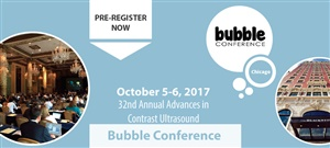 The 32nd Annual Advances in Contrast Ultrasound - Bubble Conference 2017 | Chicago