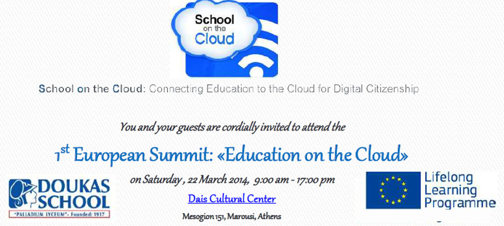 Education on the Cloud
