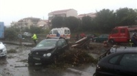 Raw images from the crash in Thessaloniki