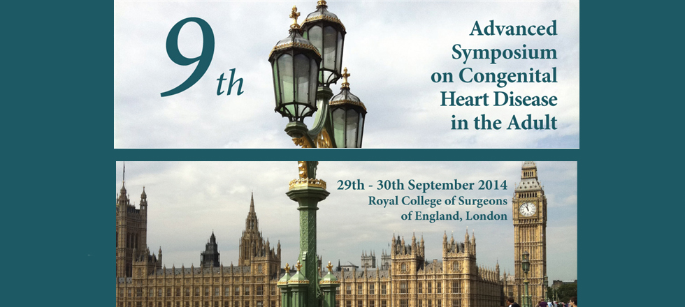 9th Advanced Symposium on Congenital Heart Disease in the Adult
