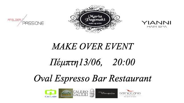 Make Over Event στην Θεσσαλονίκη