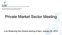 AIIC - Private Market Sector Meeting