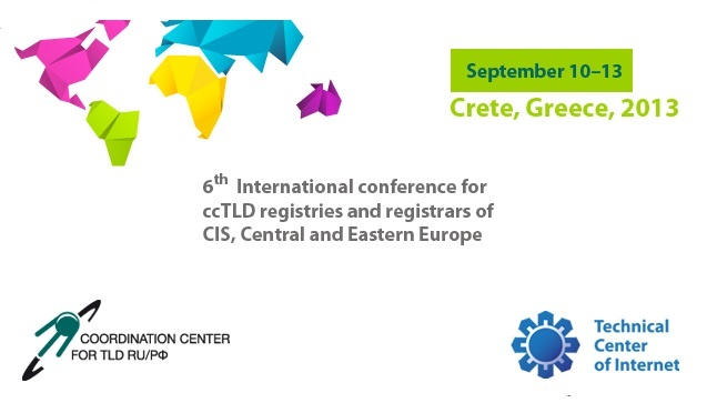 6th International conference for ccTLD registries and registrars...