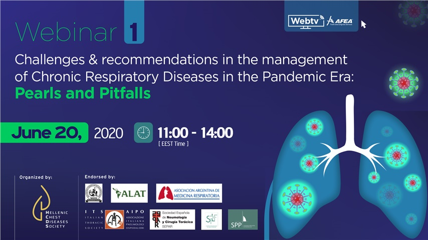 Challenges and recommendations in the management of Chronic Respiratory Diseases in the Pandemic Era:  Pearls and Pitfalls