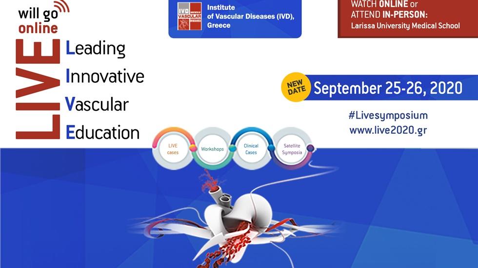Leading Innovative Vascular Education (LIVE) 2020 - ONLINE Seminar...