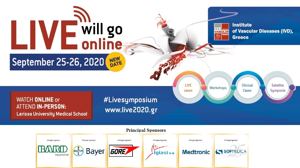 Leading Innovative Vascular Education (LIVE) 2020 - ONLINE Seminar...