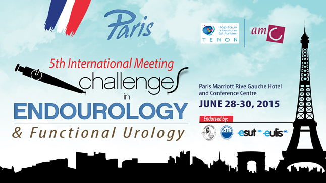 5th International Meeting Challenges in Endourology & Functional Urology