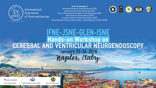 IFNE-JSNE-GLEN-ISNE Hand-on Workshop on CEREBRAL AND VENTRICULAR NEUROENDOSCOPY